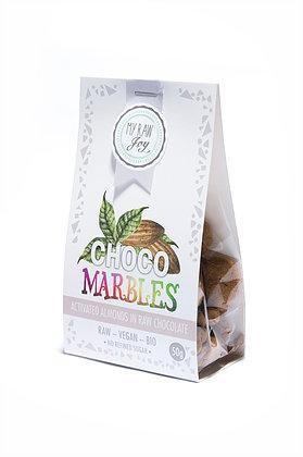 Bio - Aktivierte Mandeln in Roher Schokolade
