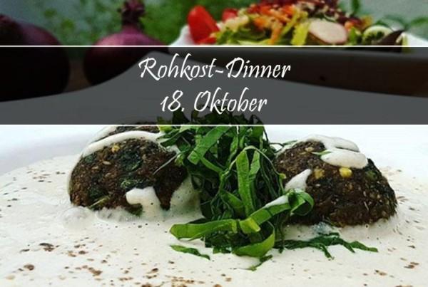18. Oktober 2019: Rohkost-Dinner