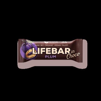 Lifebar InChoco Pflaume ROH BIO - Rohkostriegel