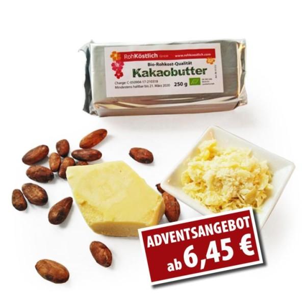 Bio Kakaobutter - Rohkostqualität