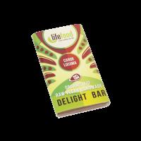 Lifefood Schokolade - Carob & Lucuma - Bio und Rohkostqualität 15g