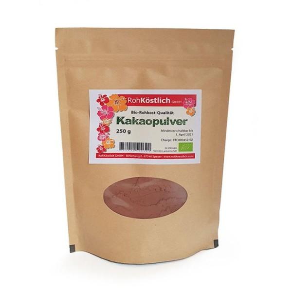 Rohes Bio - Kakaopulver aus Peru
