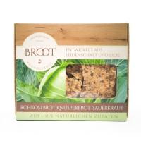 BIO-Rohkostknusperbrot Sauerkraut