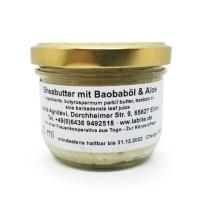 Sheabutter mit Aloe & Baobaböl