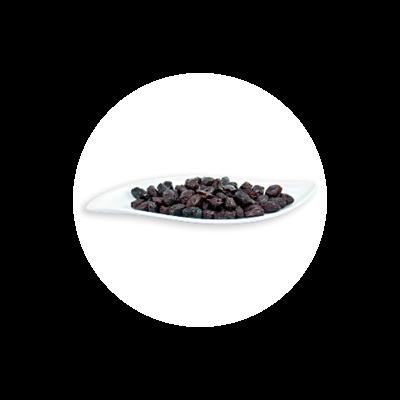 Schwarze Botija Oliven aus Peru Rohkost BIO