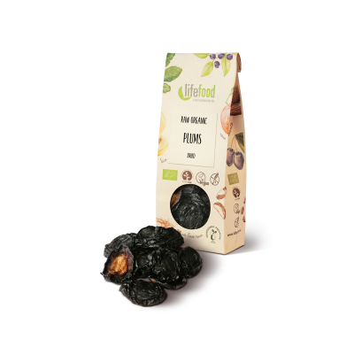 Getrocknete Pflaumen - Bio und Rohkost - Lifefood