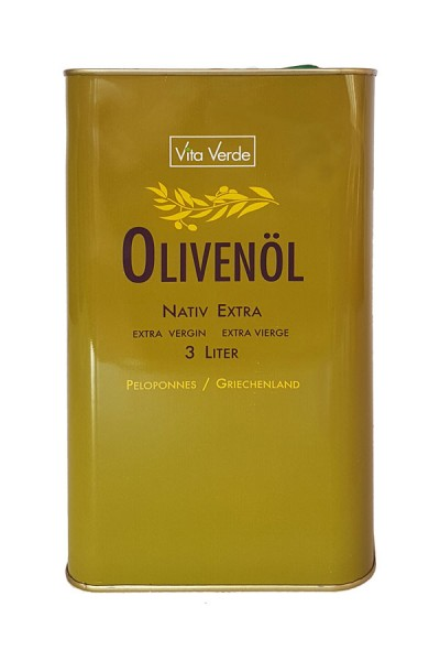 Bio Olivenöl - Nativ Extra - Peloponnes von Vita Verde
