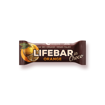 Lifebar InChoco Orange ROH BIO - Rohkostriegel