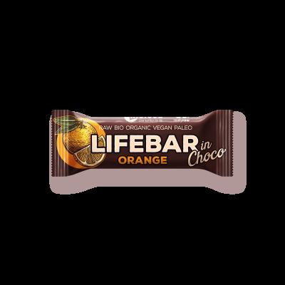 Lifebar InChoco - Orange - Bio und Rohkostriegel
