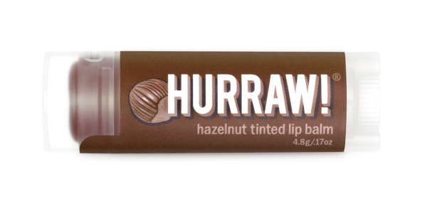 HURRAW! Getönter Lippenbalsam Haselnuss