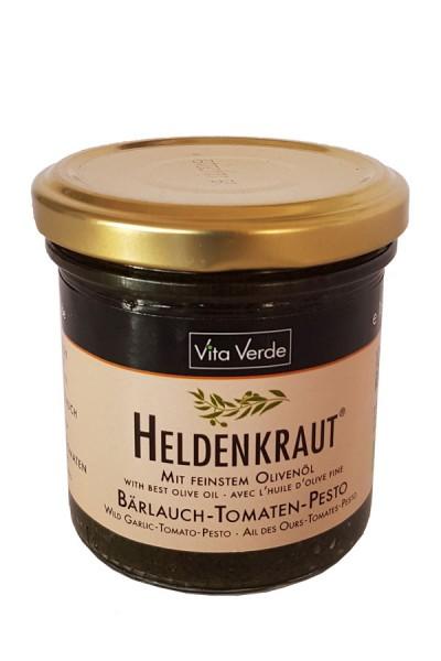 Bio Heldenkraut Bärlauch - Tomate