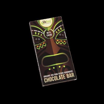 Lifefood Schokolade - 80 % Kakao - Bio und Rohkostqualität