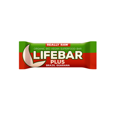 Lifebar Plus - Brasilien Guarana - Bio und Rohkostriegel