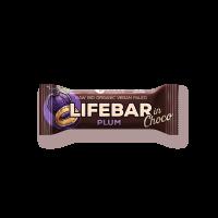 Lifebar InChoco - Pflaume - Bio und Rohkostriegel