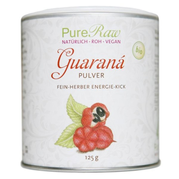Bio Guarana Frucht Pulver - MHD 30.06.20