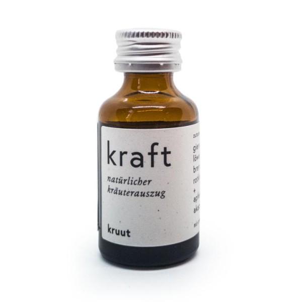 kruut - Kraft - Wildkräuterauszüge