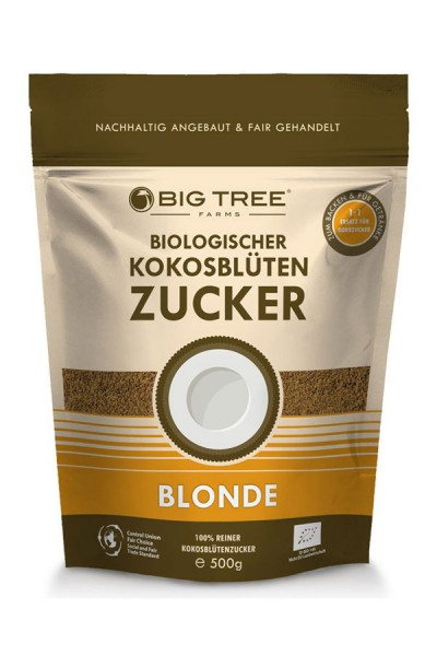 Kokosblütenzucker - blonde