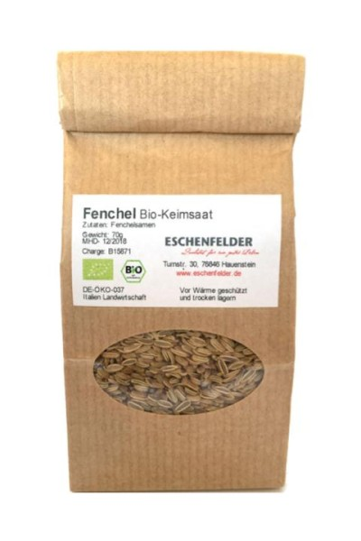Bio Keimsaat: Fenchel