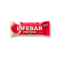 Lifebar - Erdbeere - Protein Bio und Rohkostriegel