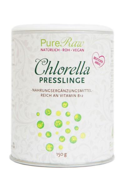Chlorella Algenpresslinge