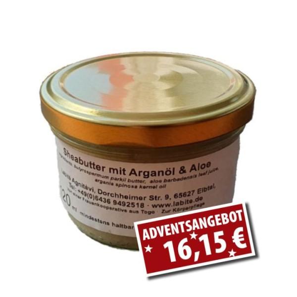 Sheabutter mit Aloe & Arganöl