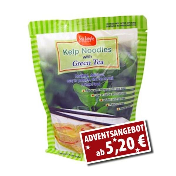 Kelp Nudeln mit Grünem Tee