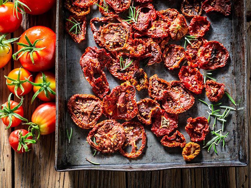 Sonnengetrocknete Tomaten in Rohkostqualität
