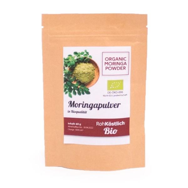 Moringa Pulver - Bio und Rohkostqualität