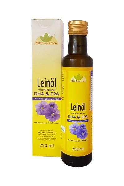 Bio Leinöl mit DHA von brunozimmer