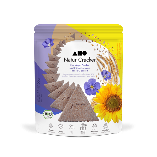AHO Natur Cracker 2.0 - Bio und Roh