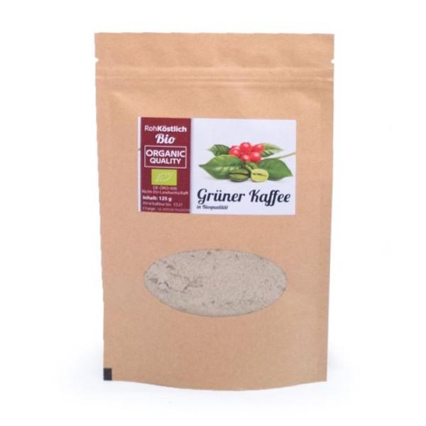 Grüner Kaffee - gemahlen - Bio