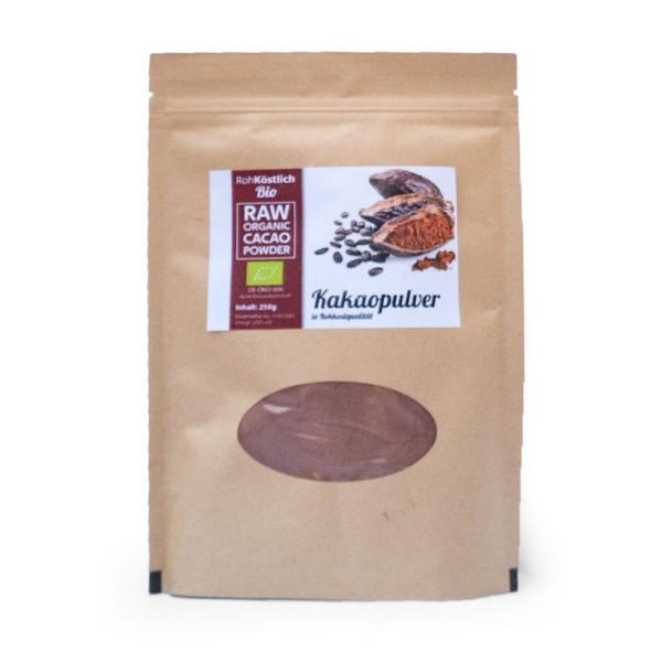 Kakaopulver aus Peru - Bio und Rohkostqualität