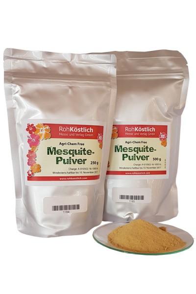 Mesquite Pulver in Rohkostqualität