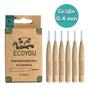Interdentalbürsten aus Bambus - 6 Stück
