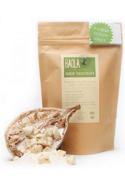 Bio Baola - Baobab Affenbrotbaum Fruchtpulver