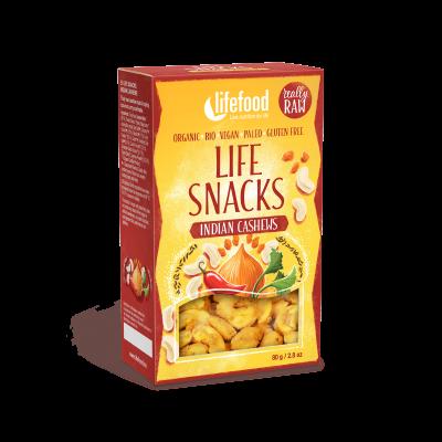 Life Snacks Indische Cashew